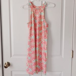 NBW High neck colorful dress